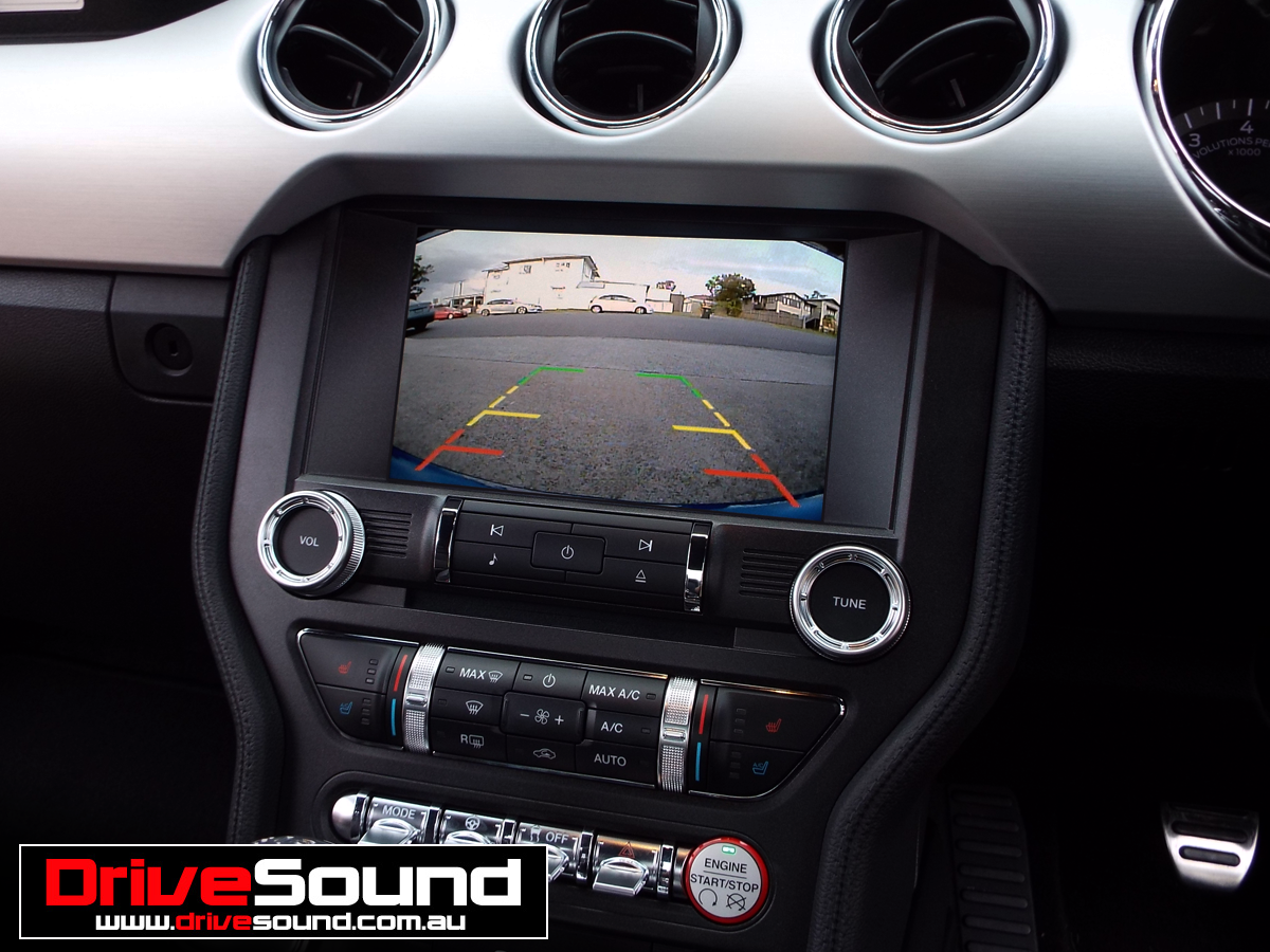 Ford Mustang Integrated Front Parking Camera