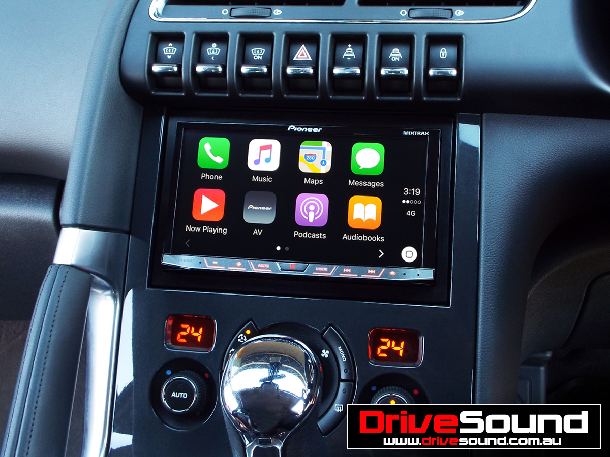 apple carplay drivesound in car technology convenience. Black Bedroom Furniture Sets. Home Design Ideas